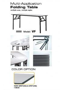 AMBER Foldable Rectangular Table VF525N