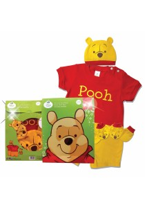 Costume Gift Set (Pooh) Size : 0-6month