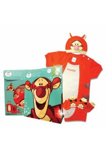 Costume Gift Set (Tigger) Size : 0-6month