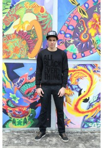Limkokwing Fashion Club All Black Everything Sweater