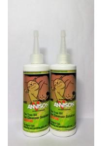 Anvison Valued Pack 01 (Ear Cleanser) - 2 Bottles Tea Tree Oil Ear Cleanser 116ml