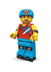 LEGO MINIFIGURE Series 9-8 Roller Derby Girl