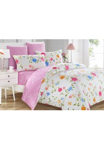 Jean Perry Paisley Quilt Cover Set (Posy- Single)