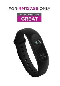 Xiaomi Mi Band 2 Smart Heart Rate OLED Display Clock Bluetooth Smartband Wristband (Black)
