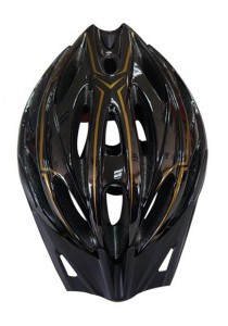 Asogo Adult In-mold Bicycle Bike Safety Helmet (Black)