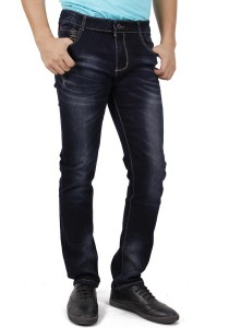 KM Men Denim Blue Jeans - Blue