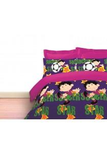 Novelle Cheerful Comforter Set (Super Star- Queen)