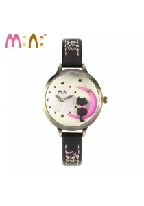 Korea Mini Watch MN2045 Black
