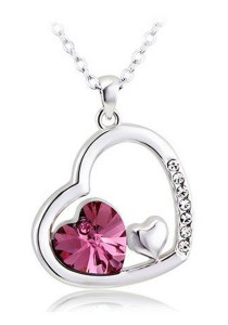 OUXI Passion of Love Necklace (Rose)