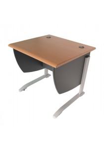 Max Computer Desk / Study Table - Natural Wood Grain