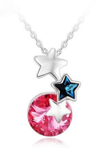 OUXI Beautiful Stars Necklace