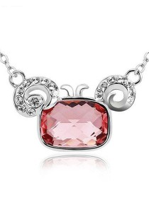 OUXI Aries Necklace (Rose)