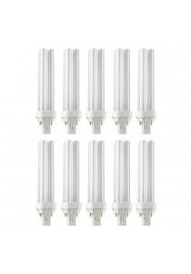 10 PCS (One Box) Philips Master PLC-2P 18W  / 840 Energy Saving Light PLC Bulb (4000K Cool White)