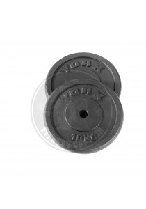 Fitness Gym Iron Weight Plate 10kg (2 Units)