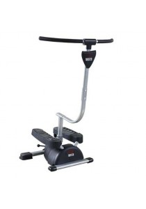 Lexcon Mini Stepper of Gym Fitness / New Design Cardio Twister of Gym for Home Exercise (Black)