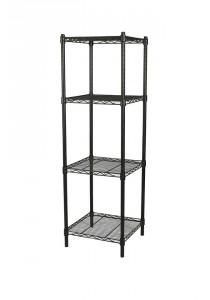 Vetop Storage 4 Tiers Rack Small - Black