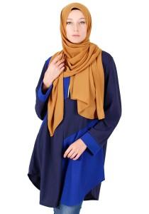 KM Muslimah Eclipse Plus Size Blouse Free Size