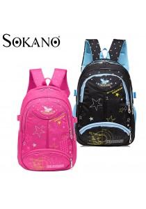 SOKANO Kindergarten or Primary School Kid Backpack- Design Star