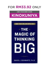 The Magic of Thinking Big (OME A-FORMAT) (Reissue) ( by Schwartz, David J. ) [9781501126178]