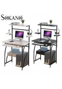 SOKANO 238 Space Saving Dekstop Desk With Shelf