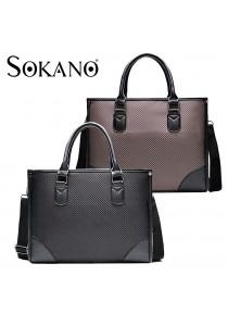 SoKaNo Trendz S001 Premium Canvas Briefcase