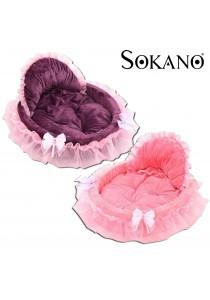 SOKANO Premium Luxury Pet Bed With Detachable Pad