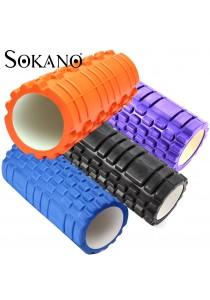 SOKANO Portable Hollow EVA Foam Pilates Yoga Roller