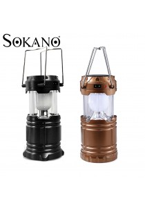 SOKANO Multipurpose Solar Power Lantern Outdoor Super Bright Rechargeable Camping Light