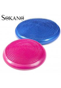 SOKANO Balance Stability Cushion Disc Trainer Exercise with FREE Air Pump