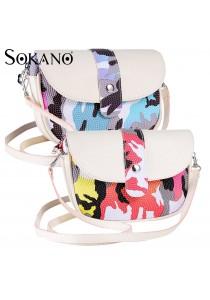 SoKaNo Trendz SKN610 Premium PU Leather Crossbody Tote Bag