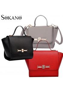 SoKaNo Trendz SKN608 Bat Design Crossbody PU Leather Bag