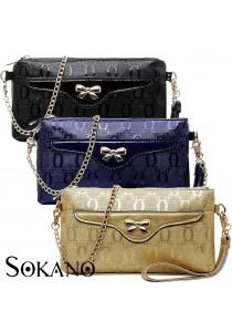 SoKaNo Trendz Premium PU Leather Multifunctional Chain Bag