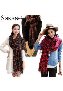 SoKaNo Trendz Korean Style Oriental Scarf