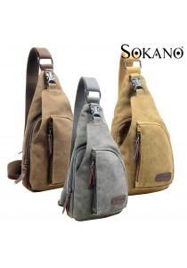 SoKaNo Trendz 3690 Canvas Shoulder Sling Pouch
