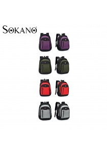 Sokano Cross L4568 Double Straps Laptop Backpack