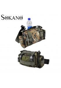 Sokano Trendz Multipurpose Military Tactical Design Waist Pouch/ Shoulder Pouch