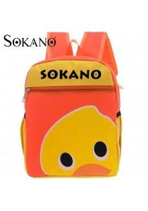 Sokano Trendz Kid Ultralight Cartoon Character Backpack- Duck