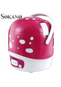 Sokano 200W 1.2L Mushroom Design Rice Cooker