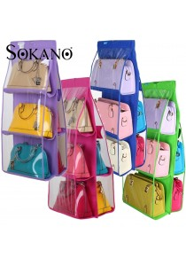 Sokano Dust Proof Handbag Rack Organizer