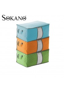 Sokano Bamboo Charcoal Multipurpose Cloth Organizer
