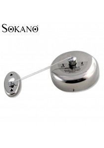 SOKANO Stainless Steel Wall Mounted Retractable Cloth Line