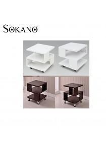 Sokano Square Shaped Simple Coffee Table/ Sofa Side Table
