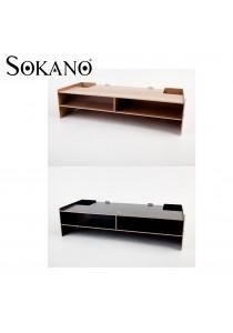 Sokano DIY Wooden Monitor Organizer Rack