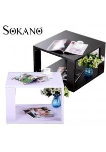 Sokano ES003 Simple Design 2 Tiers Coffee Table