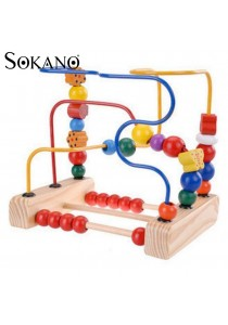 Sokano TB001 Around The Pearl Beads Wooden Toy