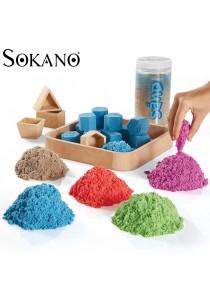 Colourful Kinetic Sand