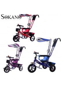 Sokano T001 Multifunctional Kid Tricycle