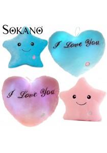 Sokano 7 Colour Changeable LED Light Stuffed Pillow