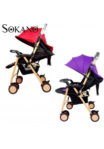 Sokano Premium 618 Luxuries High View Stroller