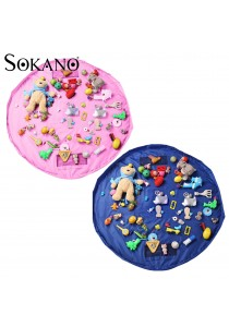Sokano 150cm Large Size Play Mat, Toy Collector and Waterproof Storage Pouch